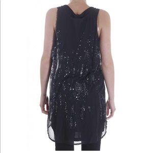 Diesel Dresses - Diesel Black Mesh and Sequin Dress
